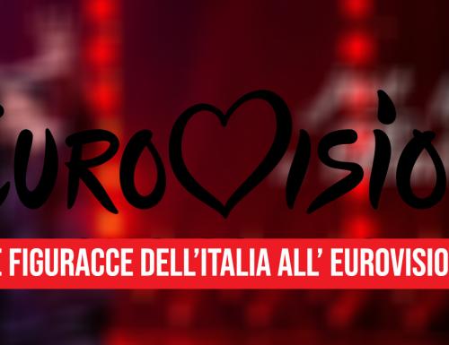 Le figuracce dell'Italia all' Eurovision!